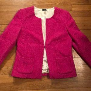 Jcrew pink wool blazer. Size 4